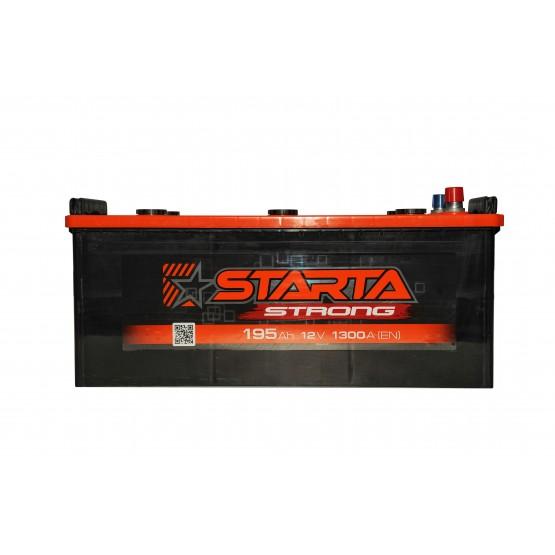 Аккумулятор для авто Аккумуляторная батарея STARTA Strong 6СТ-195АЗ (3) (B) 1300А 12V (E)