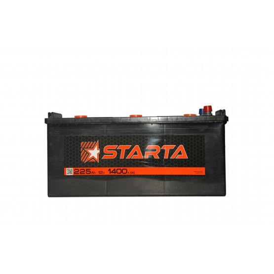 Аккумулятор для авто Аккумуляторная батарея STARTA 6СТ-225АЗ (3) (C) 1400А 12V (E)