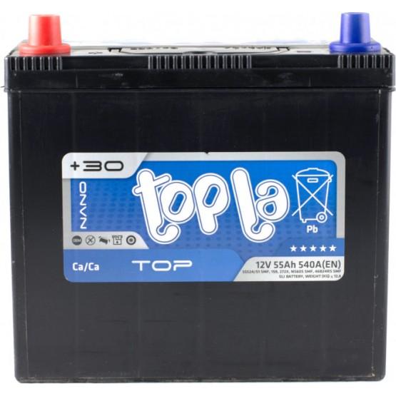 Аккумулятор для авто 55 J(1) Topla Top 55524-51 (B24+B0) 540A